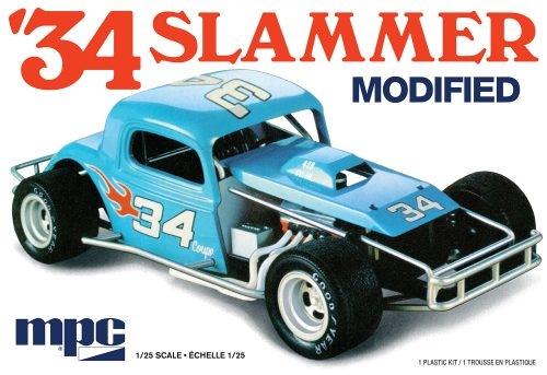 Byggmodell bil - 1934 Slammer Modified 1:25 MPC