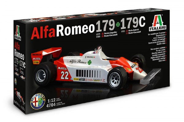 Byggmodell bil - Alfa Romeo 179 F1 - 1:12 - Italieri