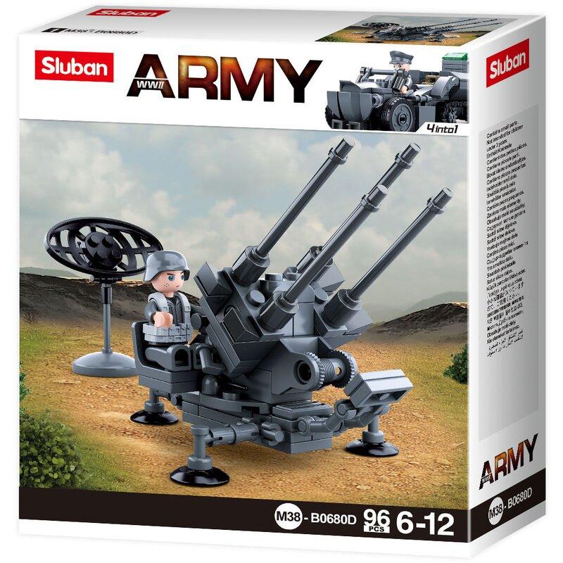 Air-Defence Artillery - byggklossar B0680D - Sluban