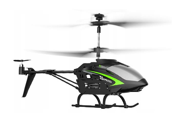 Radiostyrd helikopter - Syma Speed S5H - Svart - 2,4Ghz - RTF