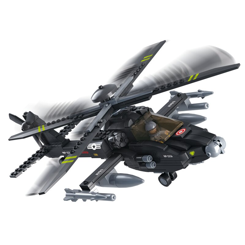 Military Helicopter B0511