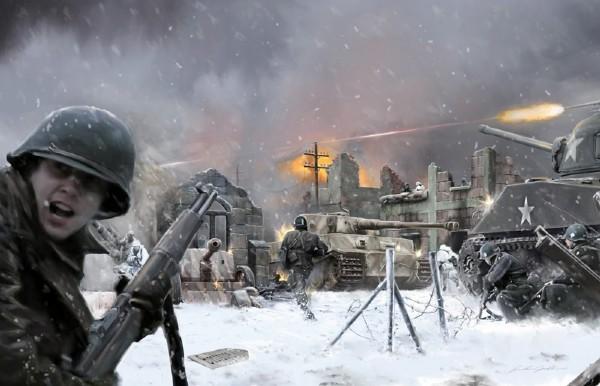Battleset: Bastogne December 1944 - 1:72 - Italieri