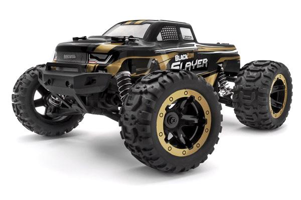 Radiostyrd bil - Slayer MT 4WD Gold - 1:16 - 2,4Ghz - RTR
