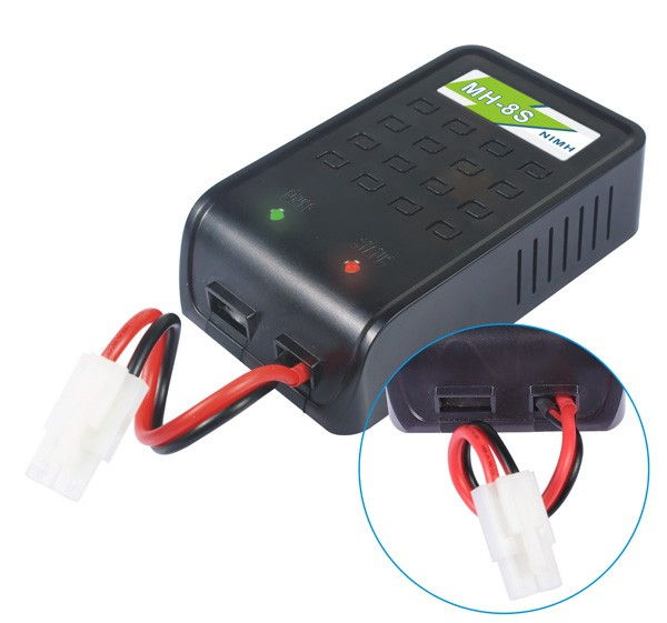 Batteriladdare NiMH 1.2V - 9.6V 800mA Tamiya