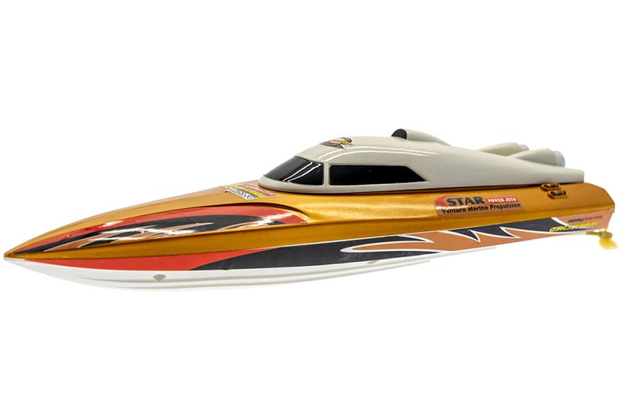 RC båt - Star Speed Boat - Guld - 2,4Ghz - RTR