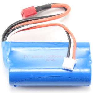 Batteri - 7,4V 1500mAh Li-Ion - T-kontakt - 2F2F 1:12 - Passar 777/888/999