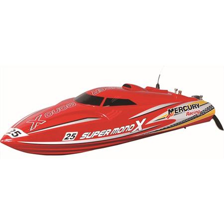 Borstlösa RC båtar - Super Mono X BL - 2,4Ghz - ARTR