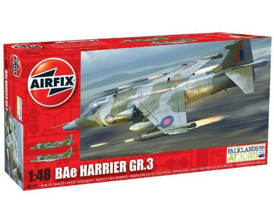 Byggmodell - BAE Harrier GR3 - 1:48