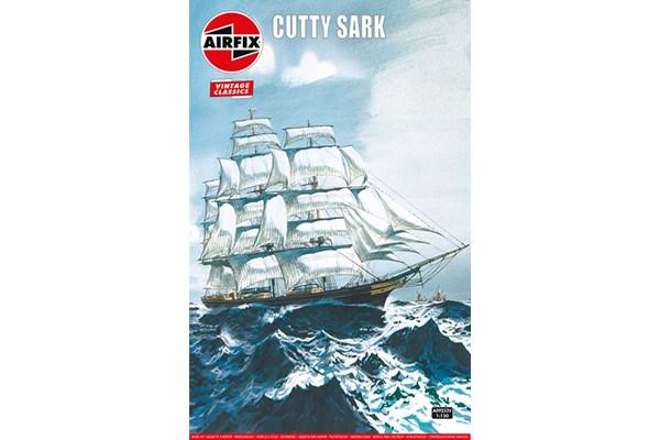 Byggmodell segelbåt - Cutty Sark - 1:130 - Airfix