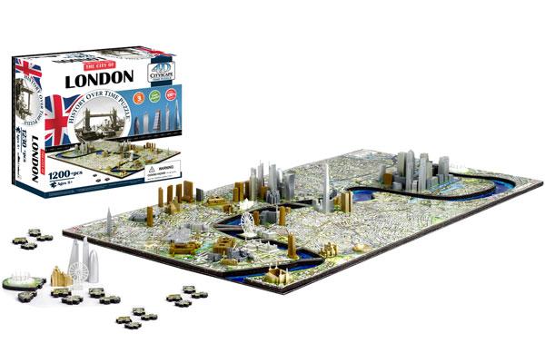 4D Cityscape Puzzle London, England