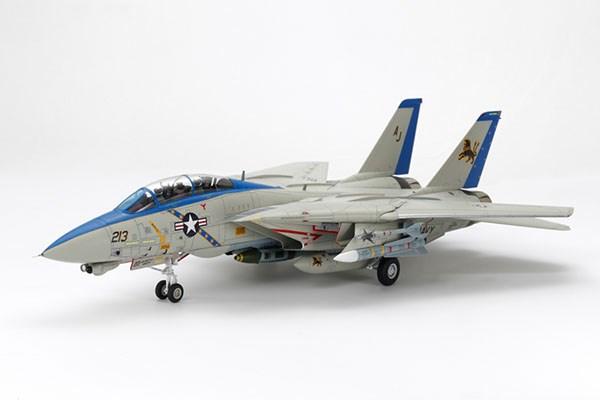 Byggmodell flygplan - Grumman F-14D Tomcat - 1:48 - Tamiya