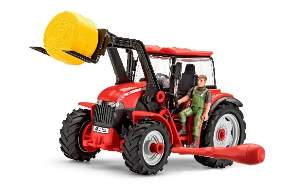 Byggmodell Traktor - Tractor with Loader - 1:20 - Revell