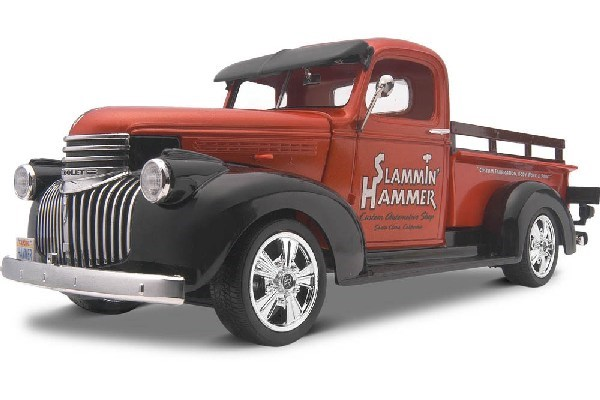 Byggmodell bil - 1941 Chevy Pickup 2n1 - 1:25 - Revell