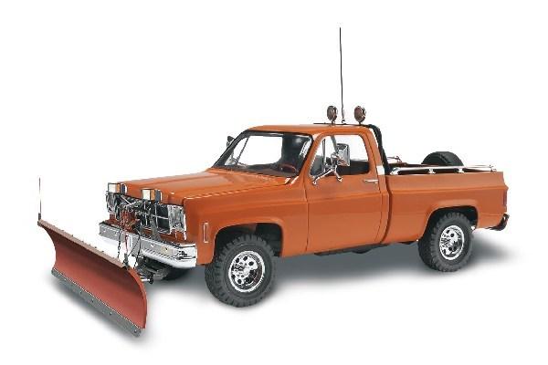 Byggmodell bil - GMC Pickup med snöplog - 1:24 - Revell