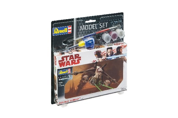 Star Wars - Model Set Republic Gunship 1:172 Revell