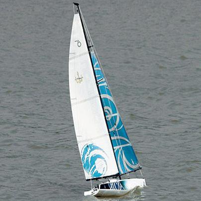 Radiostyrd segelbåt - Beili Poseidon 650 - 2,4GHz - RTR