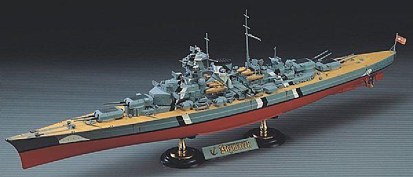 Byggmodell slagskepp - Bismarck - 1:350 - Ac