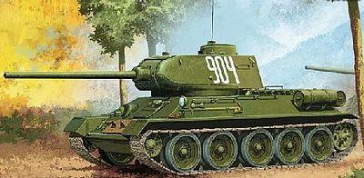 Byggsats Stridsvagn - T-34:85 no112 Factory Prod. - 1:35 - AC
