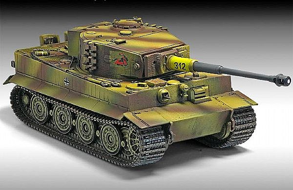 Byggmodell stridsvagn - Tiger 1 - Late Version - 1:35 - AC