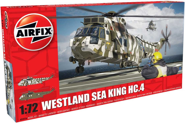 Byggmodell helikopter - Westland Sea King HC.4 - 1:72 - Airfix