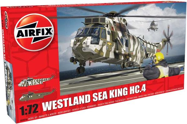 Byggmodell helikopter - Westland Sea King HC.4 - 1:72 - Airfix