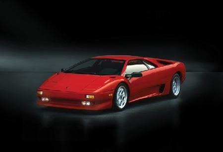 Byggmodell bil - Lamborghini Diablo - 1:24 - IT