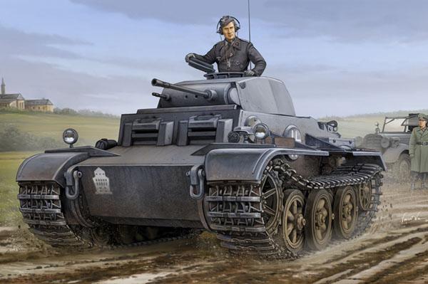 Byggmodell tanks  - German Pzkpfw.Ii Ausf.J Vk1601 - 1:35 - HB