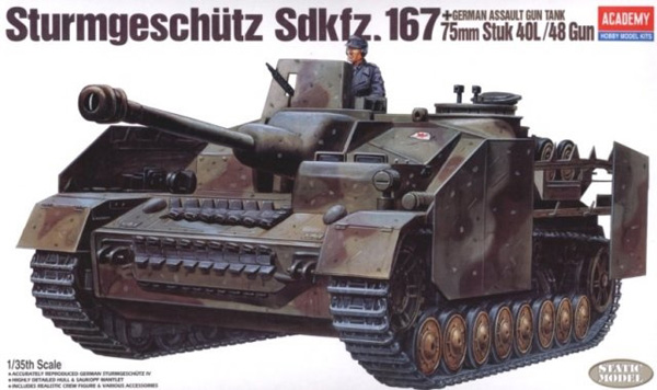 Byggmodell tanks  - Sturmgeschutz Iv - 1:35 - AC