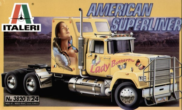 Lastbil byggmodell - American Superliner - 1:24 - IT
