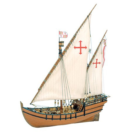 Byggsats båt trä - La Ni? 1:65 - ArtS