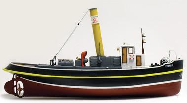 Byggmodell båt trä - Liman II - Steam Tugboat - 1:50 - TM