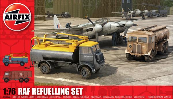Byggmodell Diorama - RAF Refuelling Set - 1:76 - Airfix