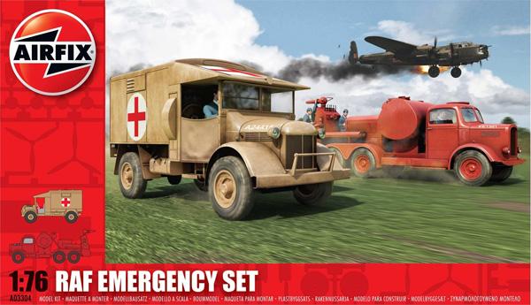 Byggmodell Diorama - RAF Emergency Set - 1:76 - Airfix