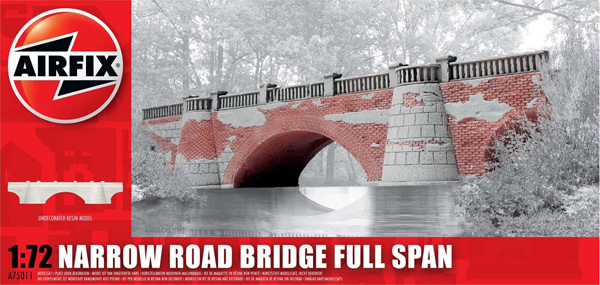 Byggmodell Diorama - Narrow Road Bridge Full Span - 1:72 - Airfix