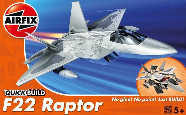 Quickbuild - Lockheed Martin F22 Raptor - Airfix