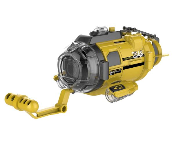 Radiostyrd ubåt - SpyCam Aqua - Silverlit - RTR
