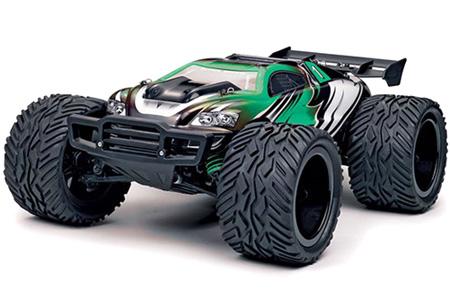 Radiostyrd bil - 1:12 - BZ Stadium Truck 4WD - 2,4Ghz - grön/svart - RTR