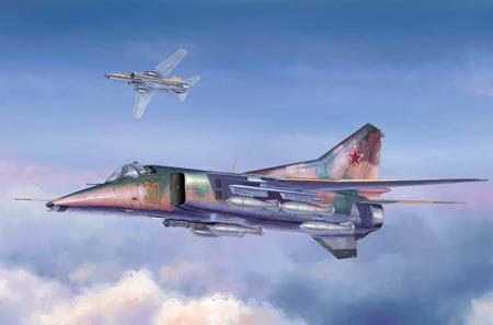 Byggmodell flygplan - Mig-27 Flogger D - 1:48 - TR