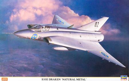 Byggmodell flygplan - S35E DRAKEN Spaningsversionen - 1:48 - Hg