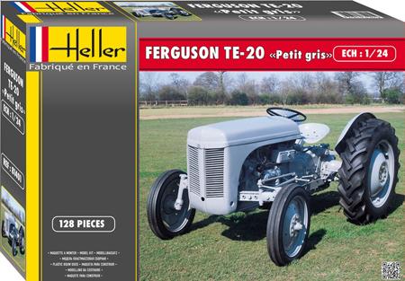 Byggmodell traktor - Ferguson GRÅLLE, GRÅTASS - 1:24 - HE