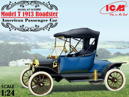 Bil byggmodell - Model T 1913 Roadster - 1:24 - ICM