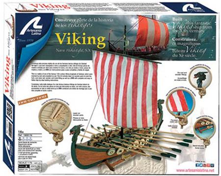 Träbyggmodell - Vikinga skepp SX - 1:75 - Artesania