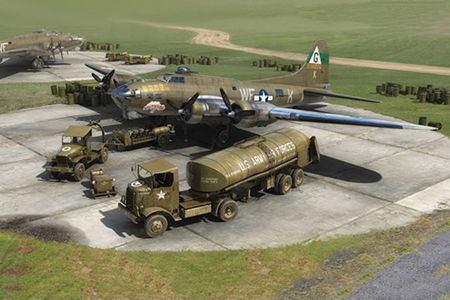 Byggmodell set - Eighth Air Force Resupply Set - 1:72 - AirFix