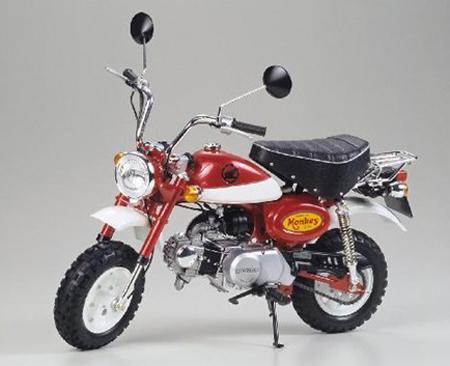 Byggmodell Motorcykel - Honda Monkey 2000 anniversary - 1:6 - Tamiya