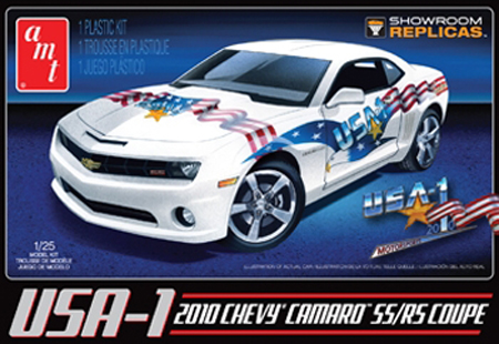Byggmodell bil - 2010 USA-1 Chevy Camaro SS:RS Coupe - 1:25