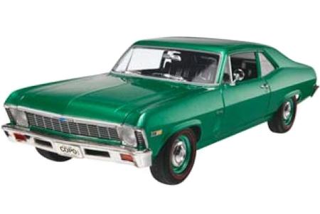 Byggmodell bil - 69 Chevy Nova COPO - 1:25 - Rv
