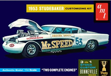 Byggmodell bil - 1953 Studebaker Starliner Mr. Speed - 1:25 - Amt