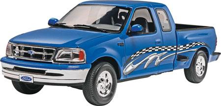 Byggmodell bil - 97 Ford F-150 XLT - 1:25 - RE