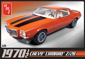 Byggmodell bil - Chevy Camaro Z/28 1970 - inkl.engine - 1:25