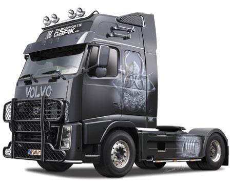 Byggmodell lastbil - Volvo FH16 Viking - 1:24 - IT